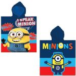 Despicable Me I Speak Minion Hooded Poncho Towel